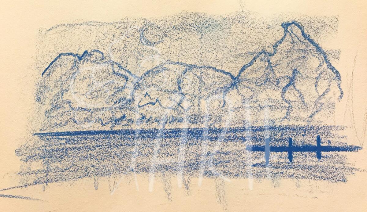 Det blå Landskab