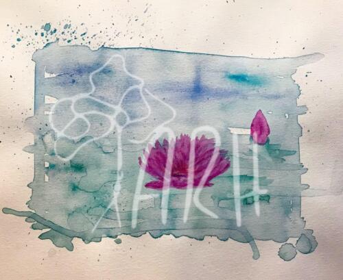 Akvarel - åkande